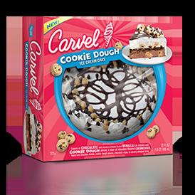 carvel cookie dough ice cream cake