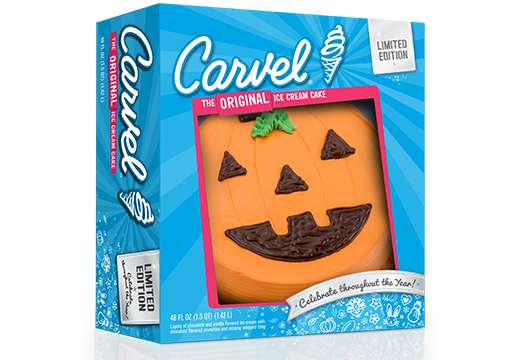 Holiday Ice Cream Cake – Pumpkin – Halloween