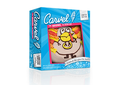 Carvel Ice Cream Cake, Turkey – Limited Edition
