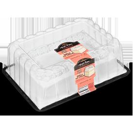 Vanilla Sheet Cake: Vanilla Ice Cream with White Cake