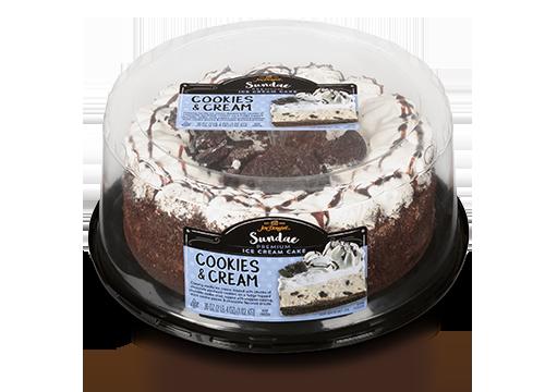 Jon Donaire Cookies and Cream Ice Cream Cake