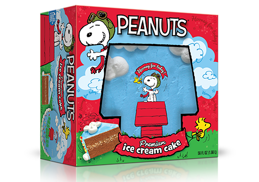 Peanuts® Flying Ace Ice Cream Cake