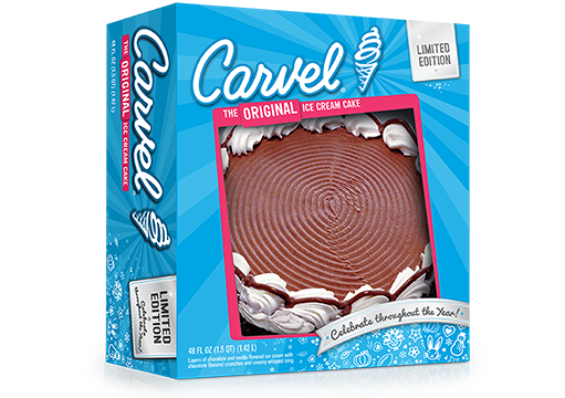 Carvel Crunch N' Fudge Ice Cream Cake – Father's Day