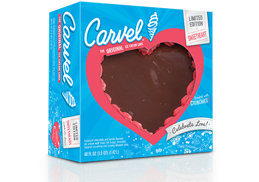 Carvel Sweetheart Ice Cream Cake – Limited Edition