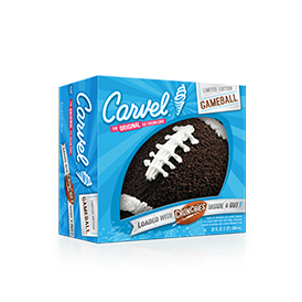 Carvel Game Ball® Ice Cream Cake - Football (Seasonal)