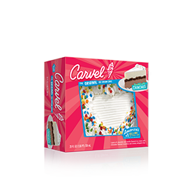 Carvel LiL' Love® Ice Cream Cake – Heart