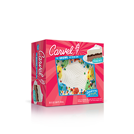 Carvel® LiL' Love® Ice Cream Cake - Ribbon