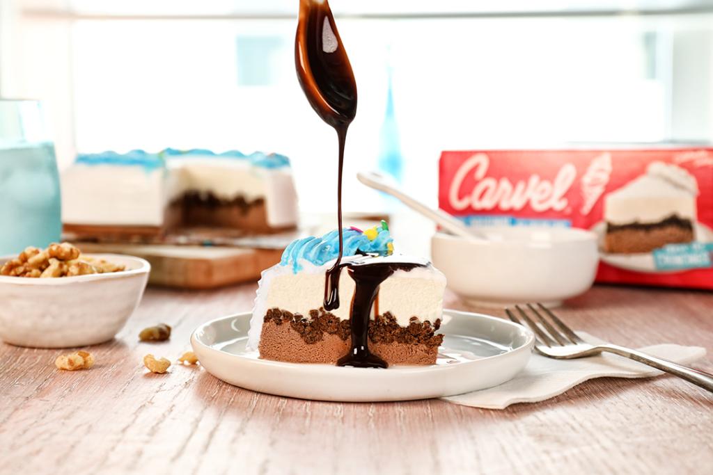 Lil' Love Chocolate Ice Cream Crunchie Cake