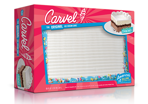 Carvel Ice Cream Cake with Confetti – Party Size