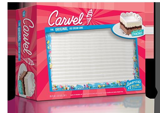 Carvel Party-Sized Confetti Ice Cream Cake
