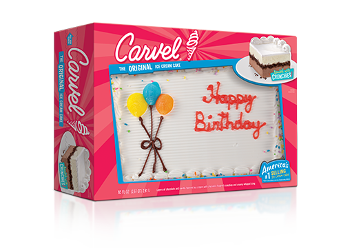 Carvel Ice Cream Cake with Balloons – Party Size
