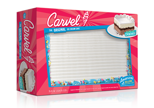 Carvel Ice Cream Cake With Confetti Family Size