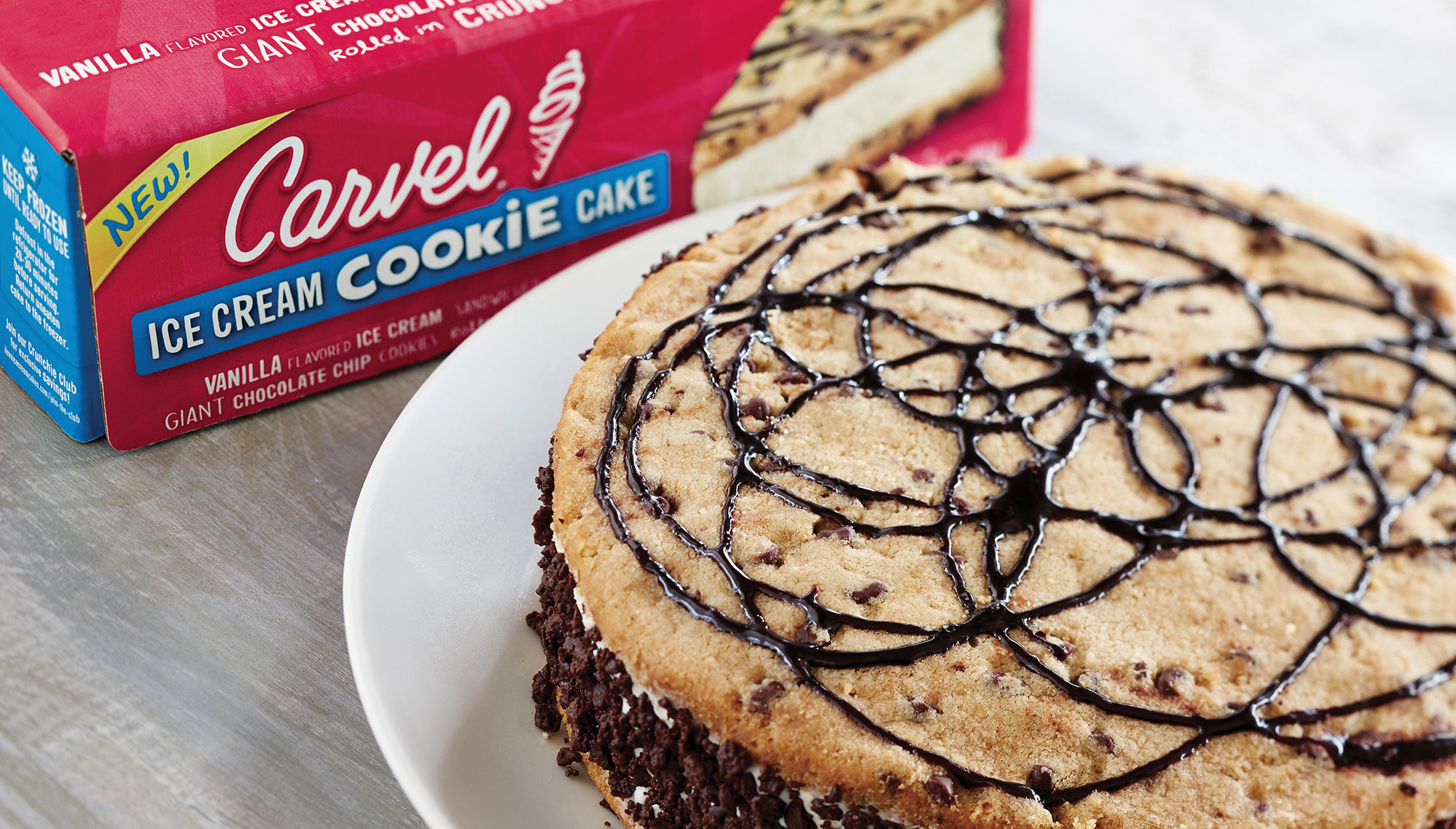 Ice Cream Cookie Cake