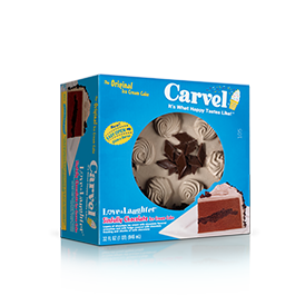 Carvel Love N' Laughter Ice Cream Cake - Sinfully Chocolate