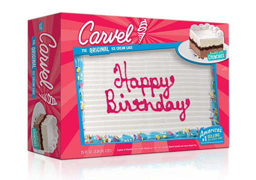 Carvel Ice Cream Birthday Cake – Family Size