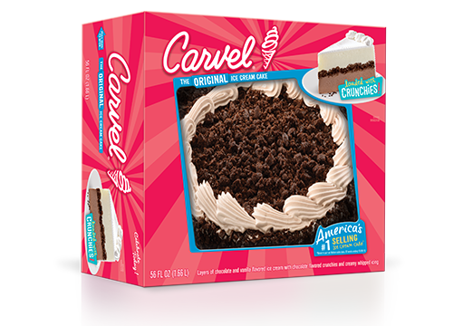 Carvel 8 Round Ice Cream Cake Double Crunch