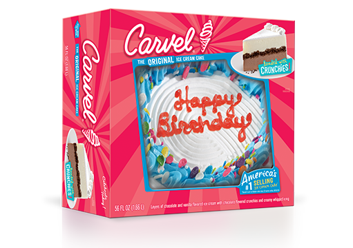 Carvel® 8″ Round Ice Cream Cake – Confetti Happy Birthday