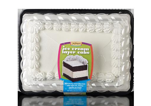 Jon Donaire Vanilla Ice Cream Layer Cake with Chocolate Cake