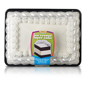 Jon Donaire Chocolate Cake/Vanilla Ice Cream Sheet Cake
