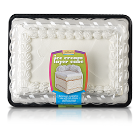 Jon Donaire White Cake/Vanilla Ice Cream Sheet Cake