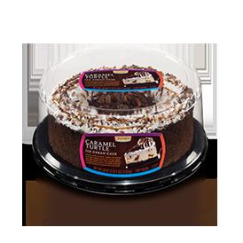 Jon Donaire Caramel Turtle Ice Cream Cake