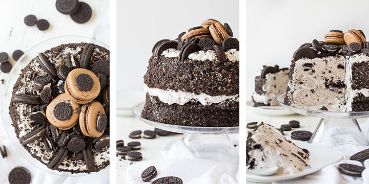 OREO Ice Cream Freak Cake