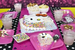 Hello Kitty Birthday Ice Cream Cake