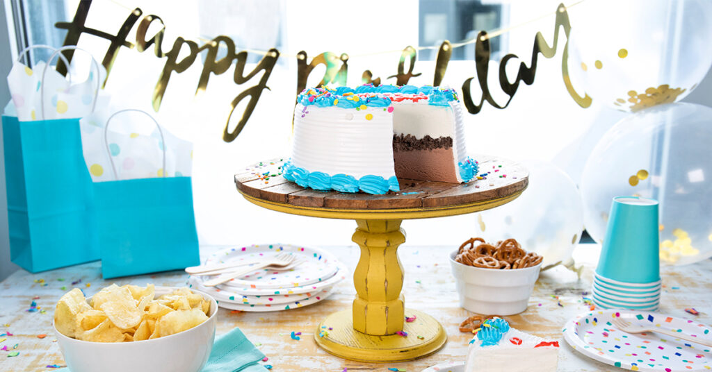 Carvel Happy Birthday Ice Cream Cake