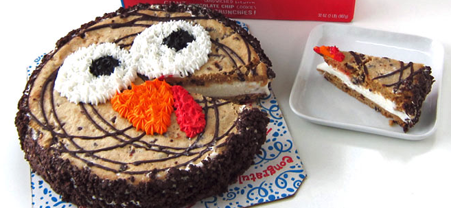 Gobble Gobble Cookie Cake