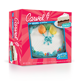 Carvel Balloons Ice Cream Cake