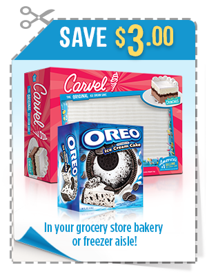 CARVEL ICE CREAM PRINTABLE COUPONS