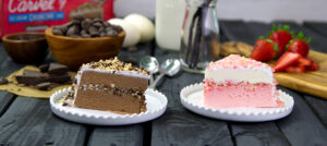 Carvel Crunchie Cake