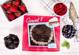 Chocolate Berry Ice Cream Cake Ingredients