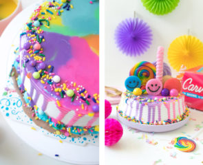 Carvel Rainbow Freak Cake