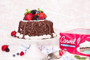 Very Berry Chocolate Ice Cream Cake