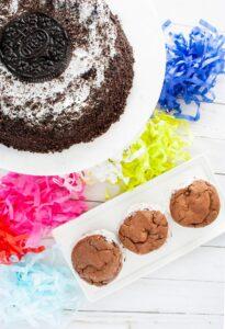 Oreo Ice Cream Cake Cookie Sandwich
