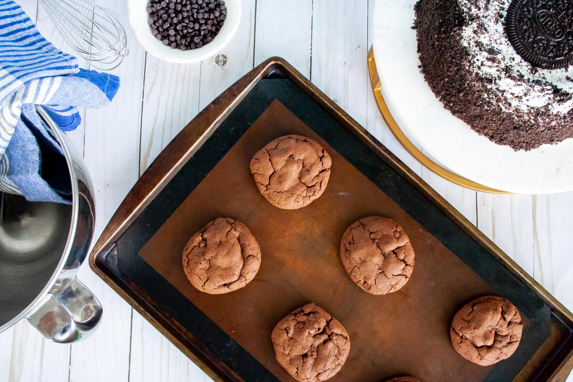 Oreo Ice Cream Cake Cookie Recipe