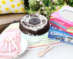 Oreo Ice Cream Cake Summer Party