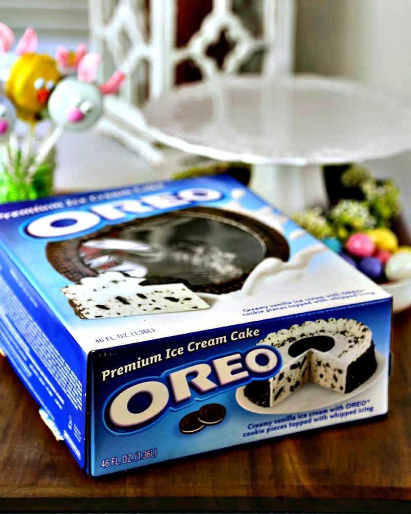 Premium Oreo Ice Cream Cake