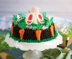 OREO Easter Bunny Ice Cream Cake