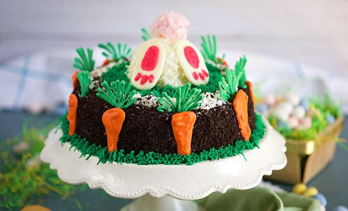 OREO Easter Bunny Ice Cream Cake