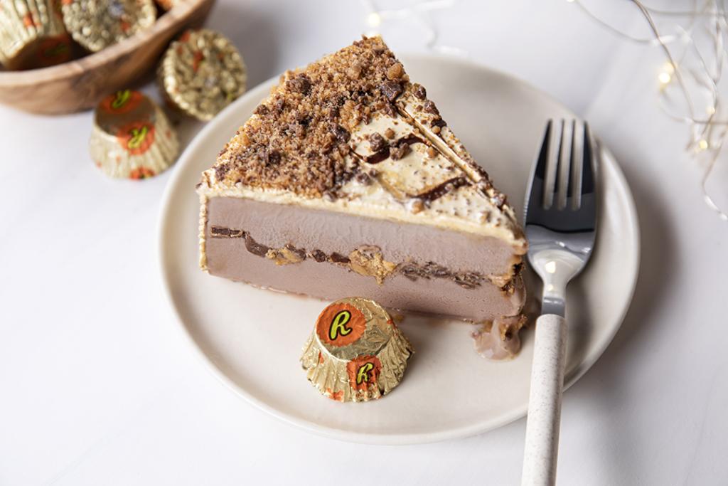 thanksgiving ice cream cake