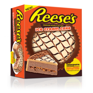 Reese's Ice Cream Cake