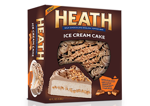 HEATH Ice Cream Cake