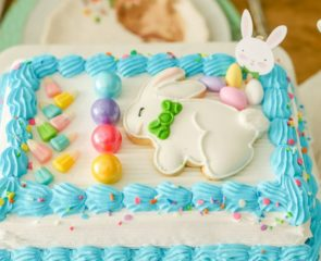 Easter Ice Cream Cake Craft