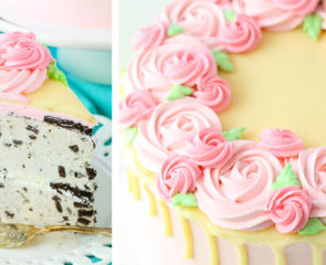 Mother's Day Ice Cream Cake Decorating Tutorial