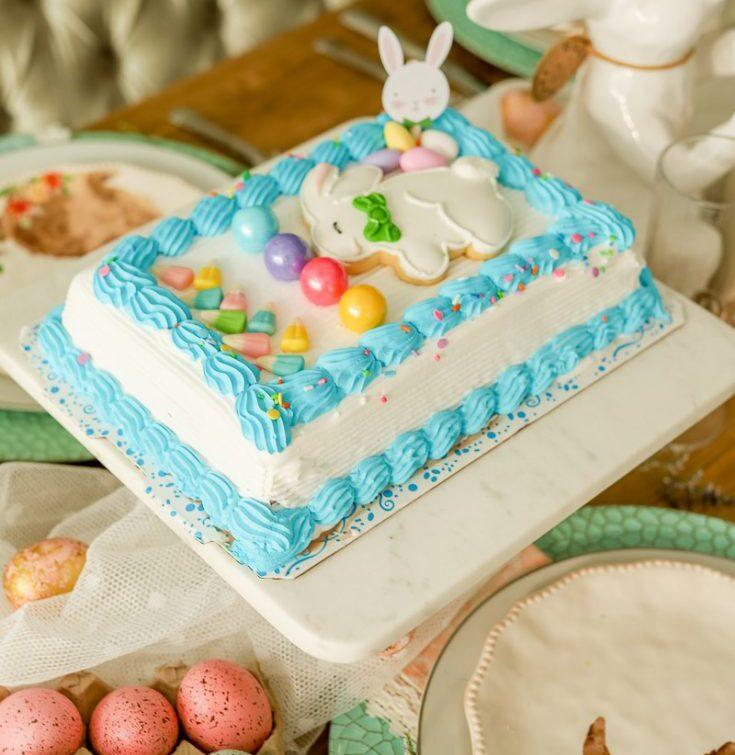 Easter Ice Cream Cake Craft